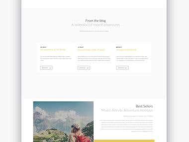 Travlr Web design