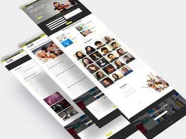 Music Class Website Design