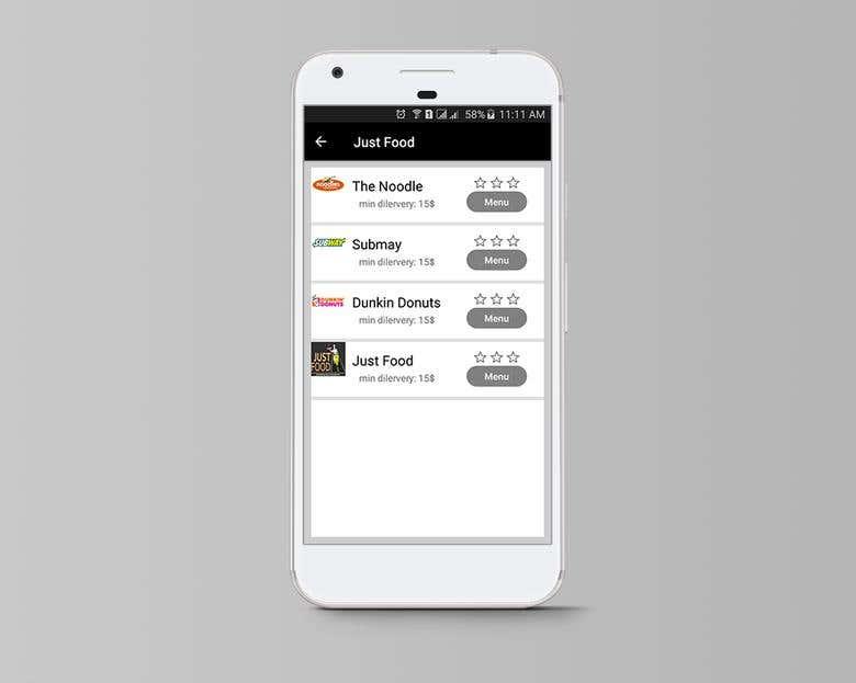 Just Food Delivery App | Freelancer