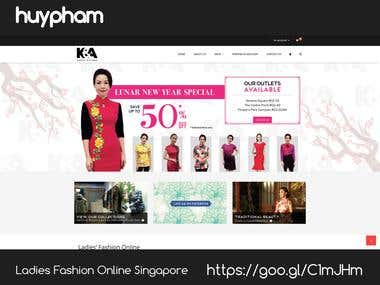 Ladies Fashion Online Singapore