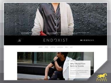 Toronto Menswear & Lifestyle Blog: ENDOXIST