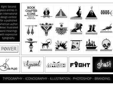 ICONS & TYPOGRAPHY