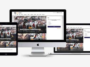 Sports News Portal