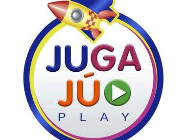 "Logotipo ""Jugajú Play"""