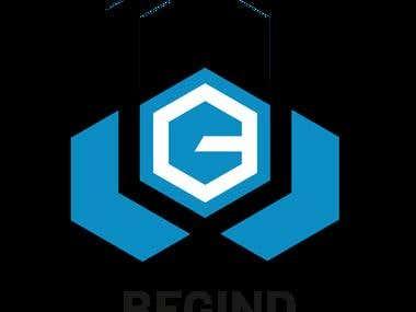 begind