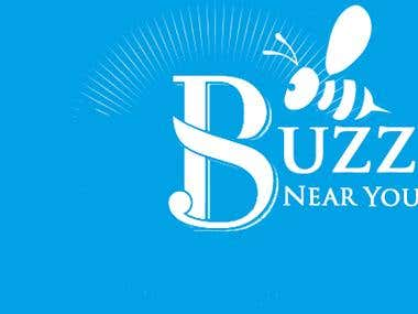 Buzz Near you LOGO design