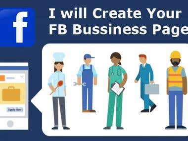Create fb Business page