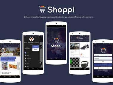 Shoppi: Shopping made personal. (eCommerce Portal)