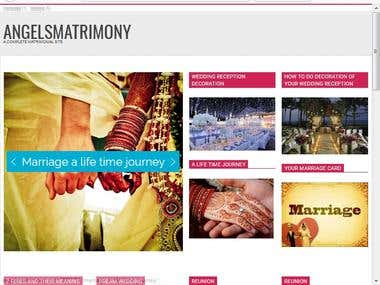 A Matrimonial Magazine or blog