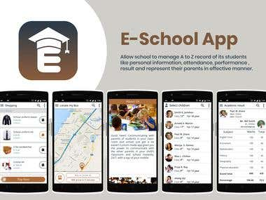 E-School Hub Student Management Application