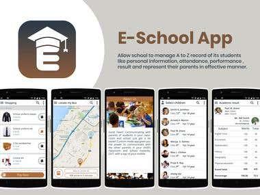 E-School Hub Student Management Application