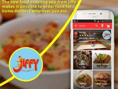 Jiffy - Food ordering app from multiple restaurants