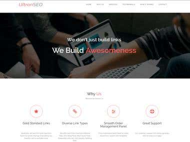 Seo agency website