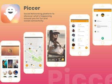 Piccer Social Networking Application