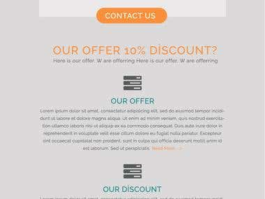HTML Email Template Design