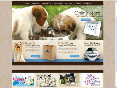 PET Store Ecommerce Website