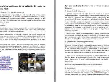 Redacción por Encargo. Micro en Tecnología