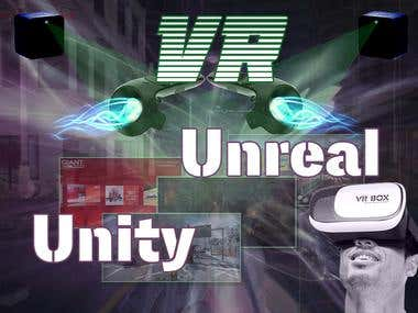 Unreal and Unity on Virtual Reality