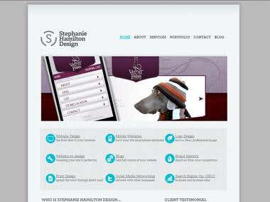 Stephan Studio Web Design