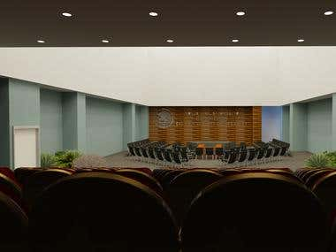 Auditorium render
