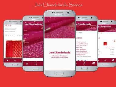 Jain Chanderiwala Sarees