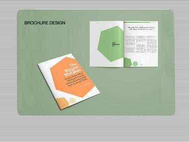 """The Big Mistake"" Brochures Design"