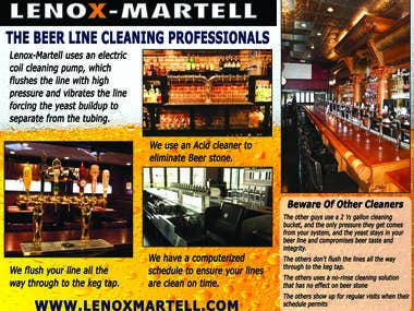 Brochure - Lenox-Martell Tap Line Cleaners