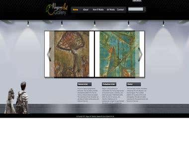 Website and CMS in Ruby on Rails for Nagpur Art Gallery