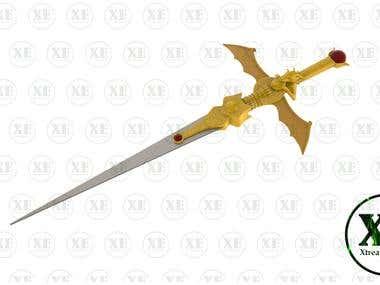 Sword 3D modeling