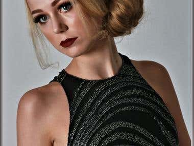 My image. Hair, make-up and styling by Lalaine Forgham