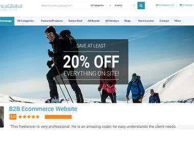 B2b Ecommerce Website