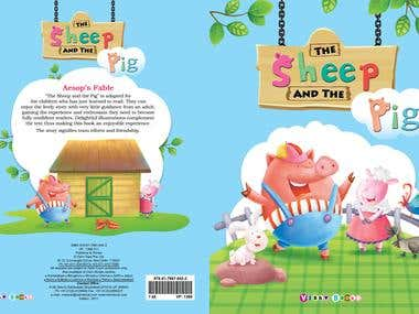 Children Book cover design