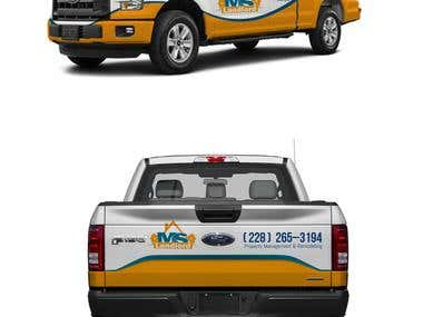 Business vehicle Wrap Design