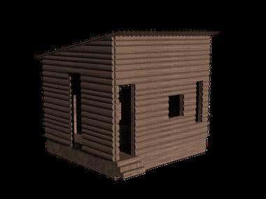 3D cabin