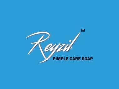 Logo Design For Reyzil - Pimple Care Soap