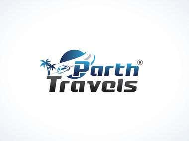 Logo Design For Parth Travels