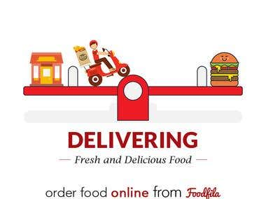 Banner Design for Foodfila