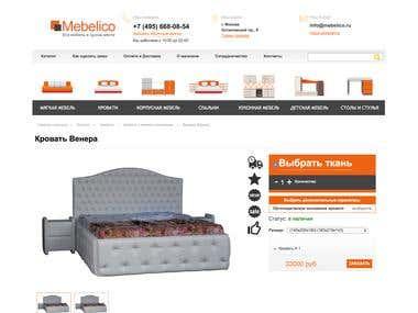 Develop a e-commerce site
