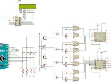12V / 20A Brushed DC Motor Driver cirucit and simulations