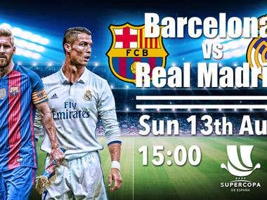 Football match HD Screen advertsising