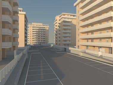 Residential Buildings - Rendering's Project