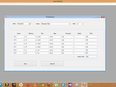 SOFTWARE FOR SAURIN TEXTILE