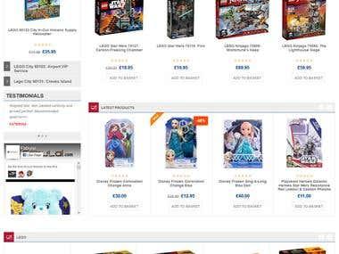 Online Kids toys Shop