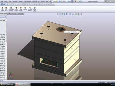 Injection mold design & analysis