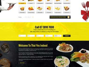 Restaurant Website Design & Development