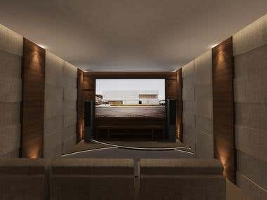 SIMPLE Home theater design