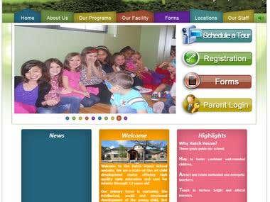 Hatch House School Website