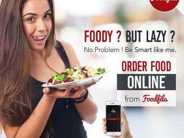 Banner Design for Foodfila