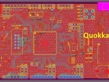 Development board based on Altera FPGA