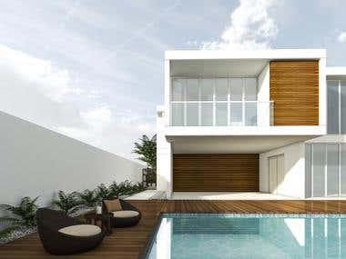 inspired by Byron Galvez modern house
